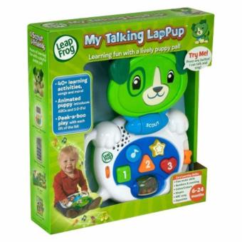 Harga Leap Frog My Talking Lappup Scout (Green)