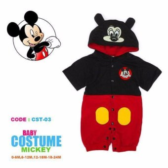 Harga Mickey Mouse Baby Romper Costume (1-2 Years)