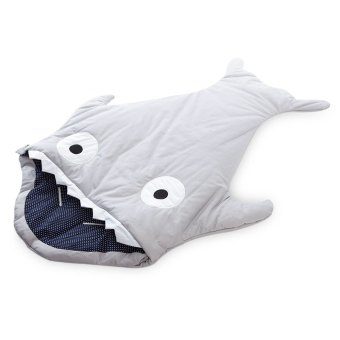 Babies Thick Shark Sleep Bag (Gray) (Intl) Price Philippines