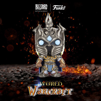 FUNKO POP Game WOW Action Figure Vinyl Figure Model Ornaments - Arthas - intl Price Philippines