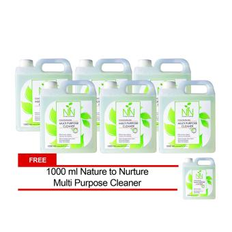 Nature to Nurture Multi Purpose Cleaner Concentrate 1000ml pack of 6 free 1 Price Philippines