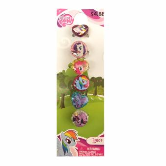 My Little Pony Rings Set of 6 on a Card Price Philippines