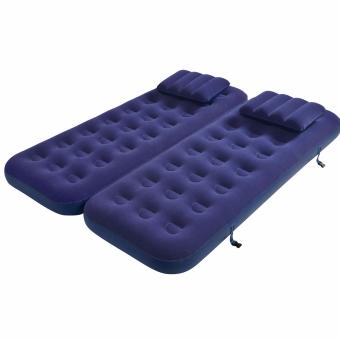 Jilong 3-in-1 Flocked Air Bed - Twin Price Philippines