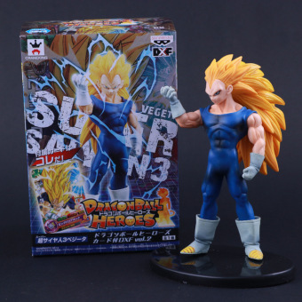 Japan Anime Dragon Ball Z Heroes Vegeta Super Saiyan God Action Figure Doll Model Toys Figuras PVC Christmas Gifts - intl Price Philippines
