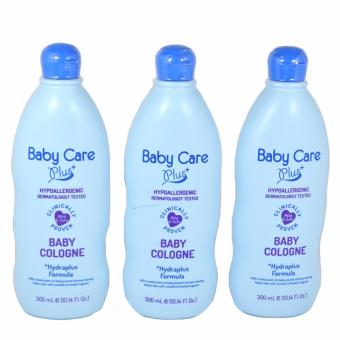 Baby Care Plus Blue Baby Cologne Set of 3 300mL Price Philippines