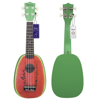 Harga IRIN 21 inch 4 String Basswood Ukulele Watermelon Musical Instrument