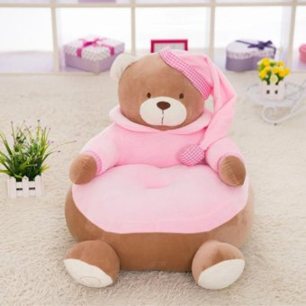 Pink Stuffed Toy Baby Kid Children Pajamas Bear Sofa Soft Doll Plush Holiday Gift - intl Price Philippines