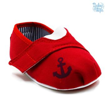 Baby Steps Anchor Baby Boy Shoes (Red) Price Philippines