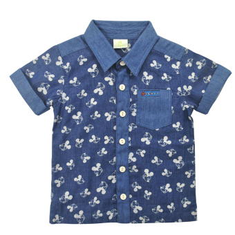 Harga Mickey Mouse Polo (blue)