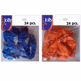 Harga Happy Birthday Balloons 24`s Blue & 24`s Orange