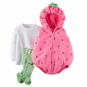 Harga Carter's Baby Animal Bubble Costume Strawberry
