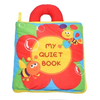 Harga Baby & Toddler Early Learning Soft Cloth Book(My Quiet Book)