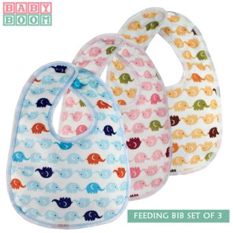 Baby Boom Feeding Bib for Babies and Toddlers (Multicolor) Price Philippines