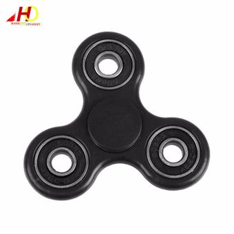 Tri Spinner Fidgets Toy Plastic EDC Sensory Fidget Spinner For Autism and ADHD Kids/Adult Funny Anti Stress Toys (Black) Price Philippines