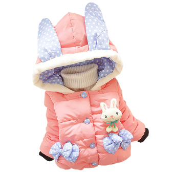 Harga Baby Girl Winter Fashion Rabbit Style Coat