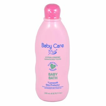 Harga Baby Care Plus Pink Baby Bath 200ml