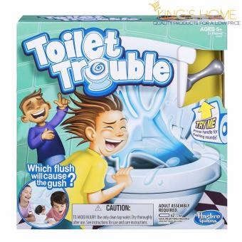 Harga King's Home Toilet Trouble Game Party Game
