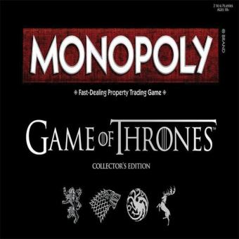 Harga Monopoly: Game of Thrones Collector's Edition Board Game