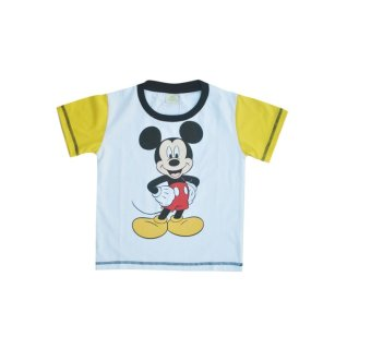 Harga Mickey Mouse T-shirt (White)