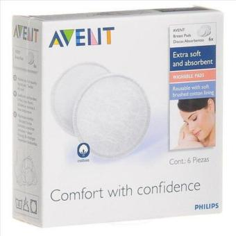 Philips Avent Washable Nursing Pads 6's Price Philippines