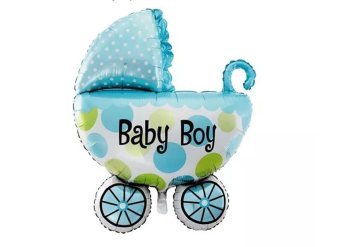 Harga Its a Boy Stroller Foil Balloon