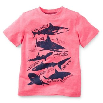 Harga Carter's Short Sleeve Tee - Rad Sharks!