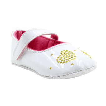 BABY STEPS Glam Baby Girl Sandals (White) Price Philippines