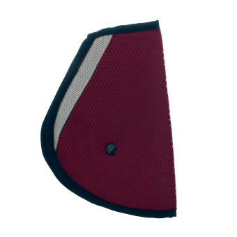 Harga Eozy Kids' Safety Belt Regulator Car Strap Adjuster Pad Children Seat Belts Cover Harness Seatbelt Clip (Wine Red)