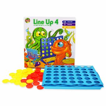 Harga XTV Connect 4 Four Line Up In A Row Line Board Game Family Kids Toy - intl