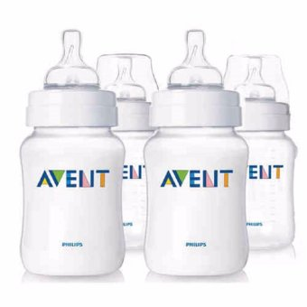 Philips Avent Classic Slow Flow Feeding Bottles 260mL 4pack SCF563/47 Price Philippines