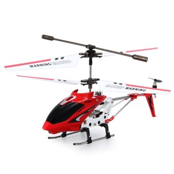 Harga Syma S107G 3Ch Remote Control Helicopter Alloy Copter With Gyroscope(Red) - intl