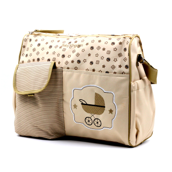 BABY STEPS Strolly Baby Diaper Bag (Cream) Price Philippines