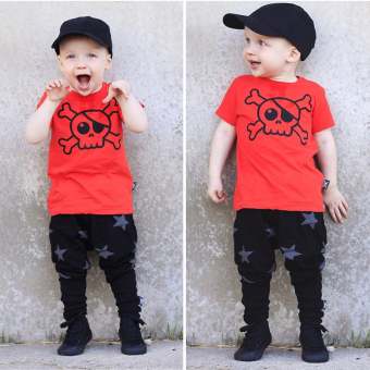 New Baby Kids Boy Star Pattern Casual Harem Pants Trousers - Intl Price Philippines