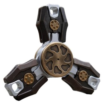 EDC Fidget Spinner UFO Tri-spinner Zinc Hand Spinner Aluminum Alloy Fidget Toy Anxiety Stress Adults Kid Metal Spinner - intl Price Philippines