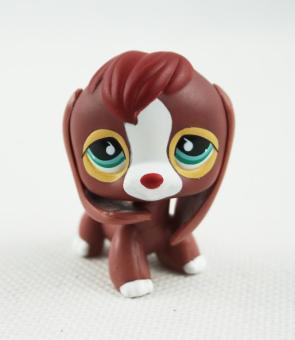 Littlest Pet Shop LPS #849 Brown Red Beagle Dog Puppy Green and Blue Eyes Toys - intl Price Philippines