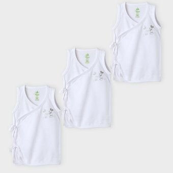 Disney Babies Mickey 3-Piece Tie-Side Top Set (White) Price Philippines