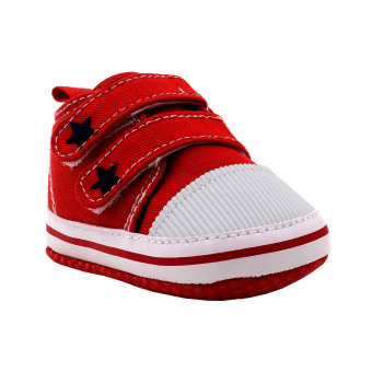 BABY STEPS Starr Baby Boy Shoes Sneakers (Red) Price Philippines