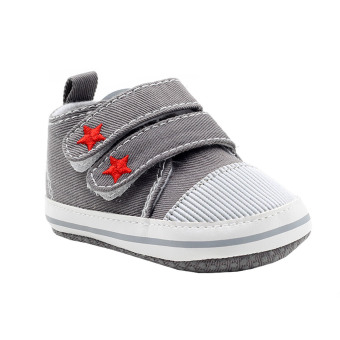 BABY STEPS Starr Baby Boy Shoes Sneakers (Grey) Price Philippines