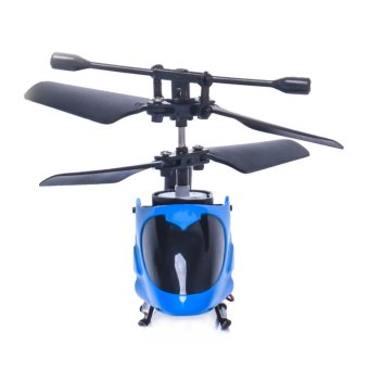 Harga RC 5012 2CH Mini Rc Helicopter Radio Remote Control Micro 2 Channel Blue - intl