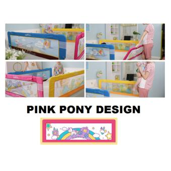 Harga Fortress Baby Safety Mambo Bed Rail Pink Pony (1.5m EMBEDDED)