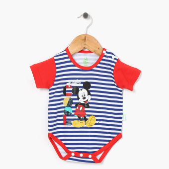 Harga Disney Baby Boys Mickey Mouse Onesie (Blue)