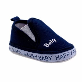 BABY STEPS Happy Baby Boy Shoes (Navy) Price Philippines