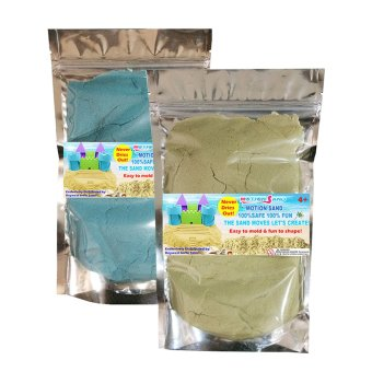 Harga Motion Sand Natural and Blue Color Sand