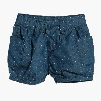 Just Jeans Girls Dotted Chambray Shorts (Blue) Price Philippines