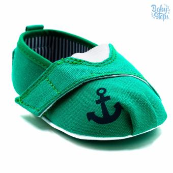 Baby Steps Anchor Baby Boy Shoes (Green) Price Philippines