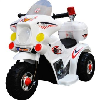 Harga Active Life LL999 Rechargeable Motor Bike (White)
