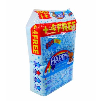 Harga Happy colored diapers 30'S Medium 852304 1'S