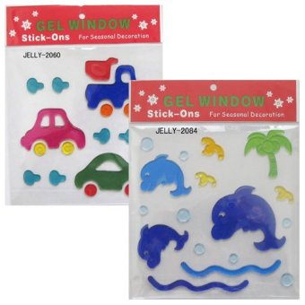 Harga Young Mindz Cars and Dolphine Gel Sticker