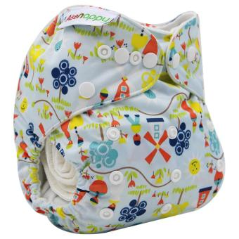 Asenappy Resuable Pocket Cloth Diapers Nappy With One insert Price Philippines