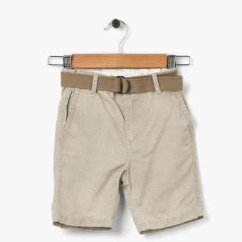 Just Jeans Boys Cross Hatch Chino Shorts (Beige) Price Philippines